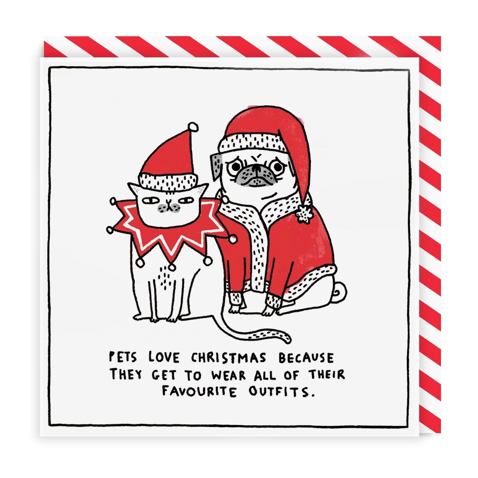 Christmas Cards - FurCats